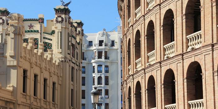 Rue Eixample Valencia