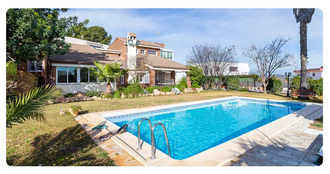 acheter maison chiva valence espagne piscine