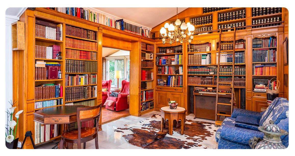 bibliotheque maison achete valence espagne chiva