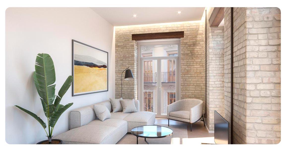 salon appartement achete valence spagne ciutat vella