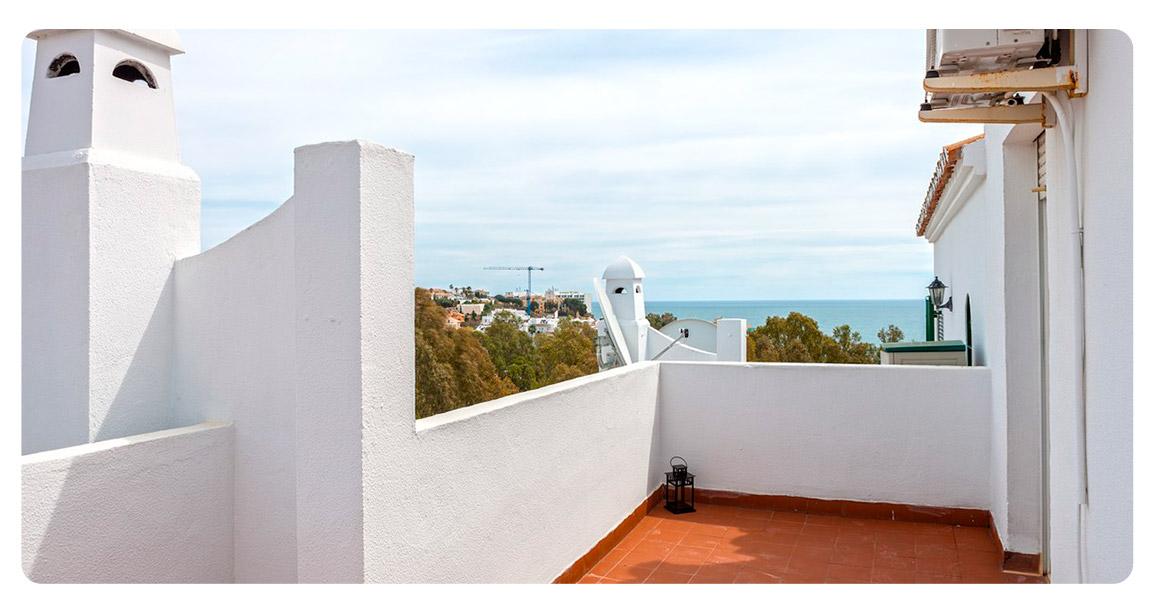 terrasse maison achete malaga
