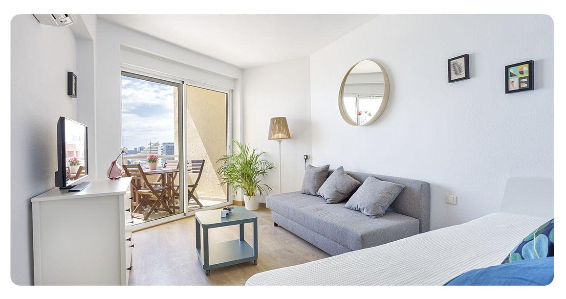 acheter appartement malaga espagne salon
