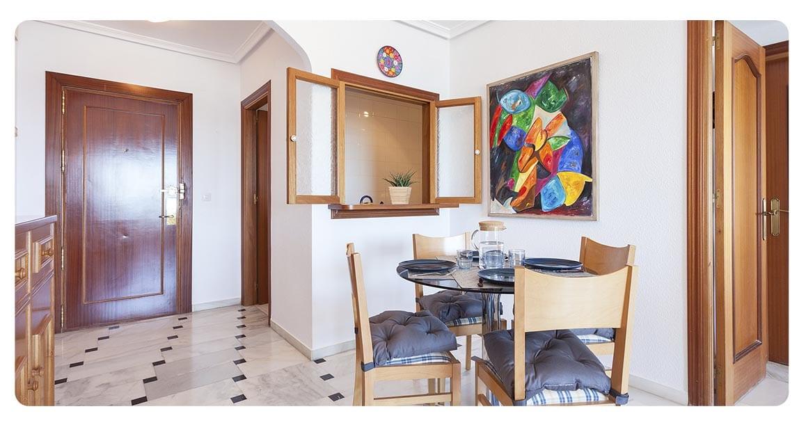 acheter appartement malaga espagne salon cuisine