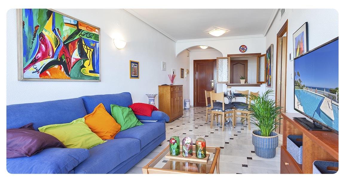 acheter appartement malaga espagne salon 2