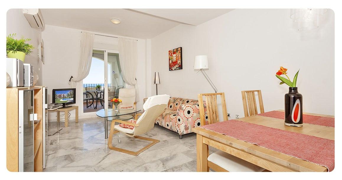 acheter appartement malaga espagne mijas salon