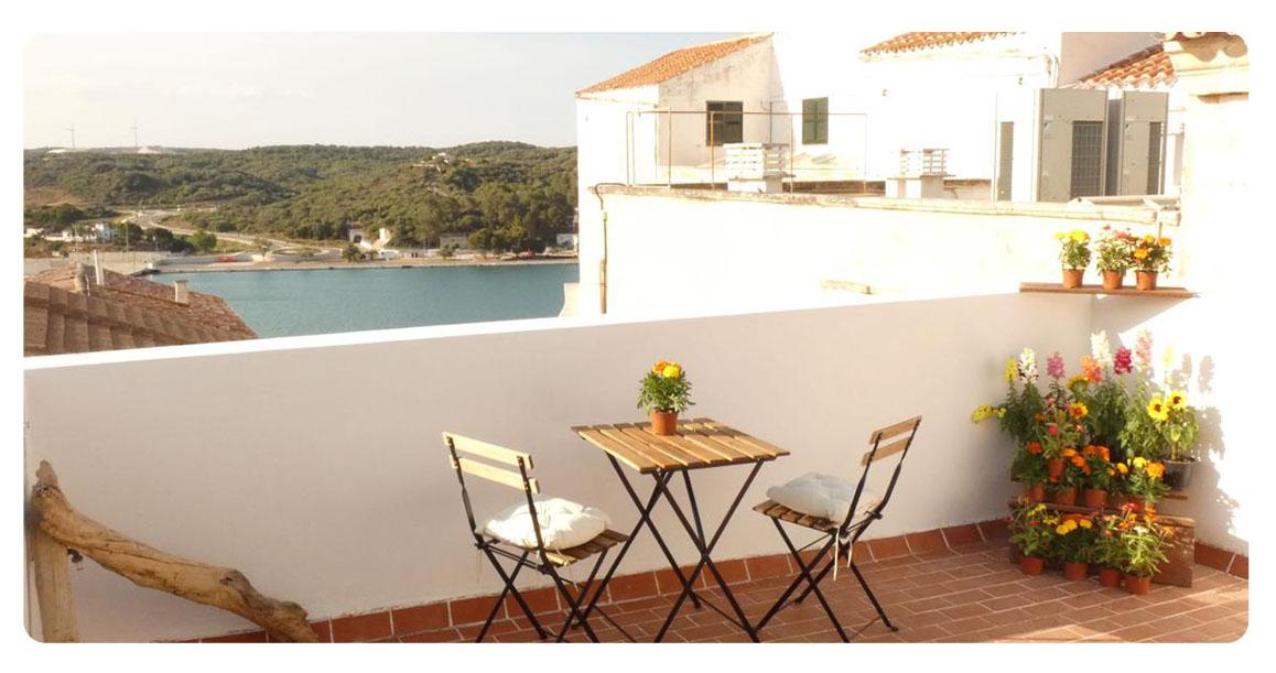 acheter appartement minorque mahon terrasse