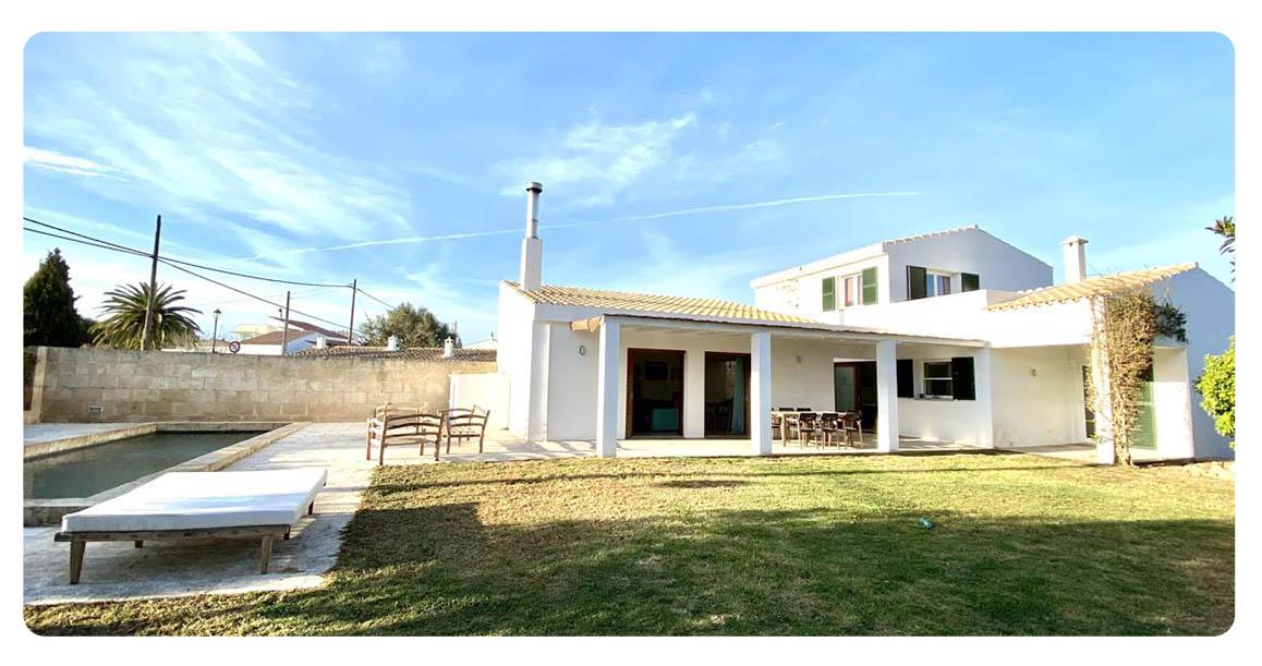 acheter maison contemporain minorque exterieur