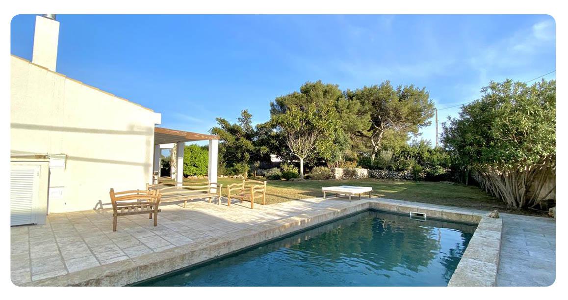 acheter maison contemporain minorque piscine