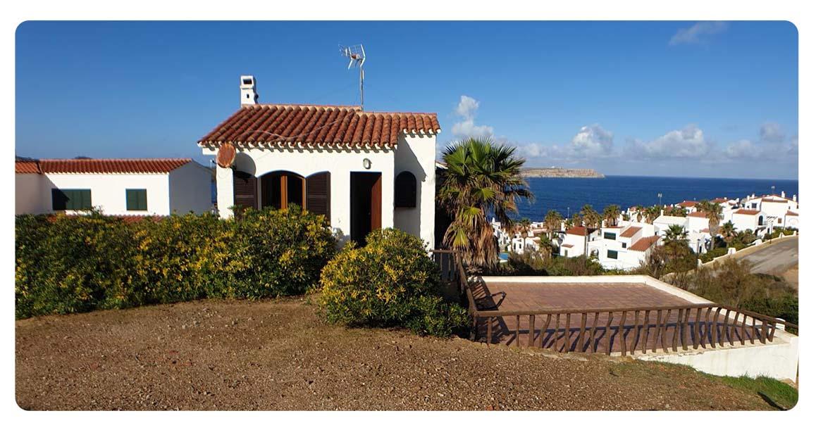 acheter maison contemporain minorque playas fornells exterieur