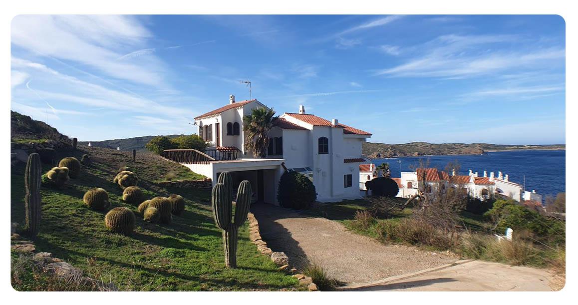 acheter maison contemporain minorque playas fornells jardin