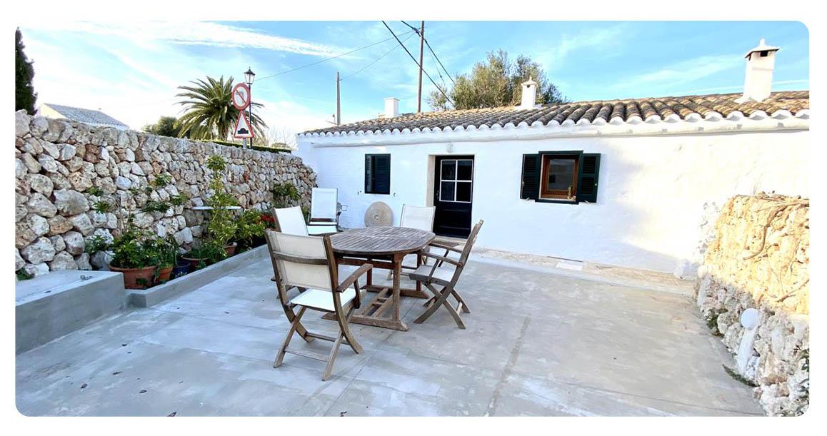 acheter maison contemporain minorque terrasse