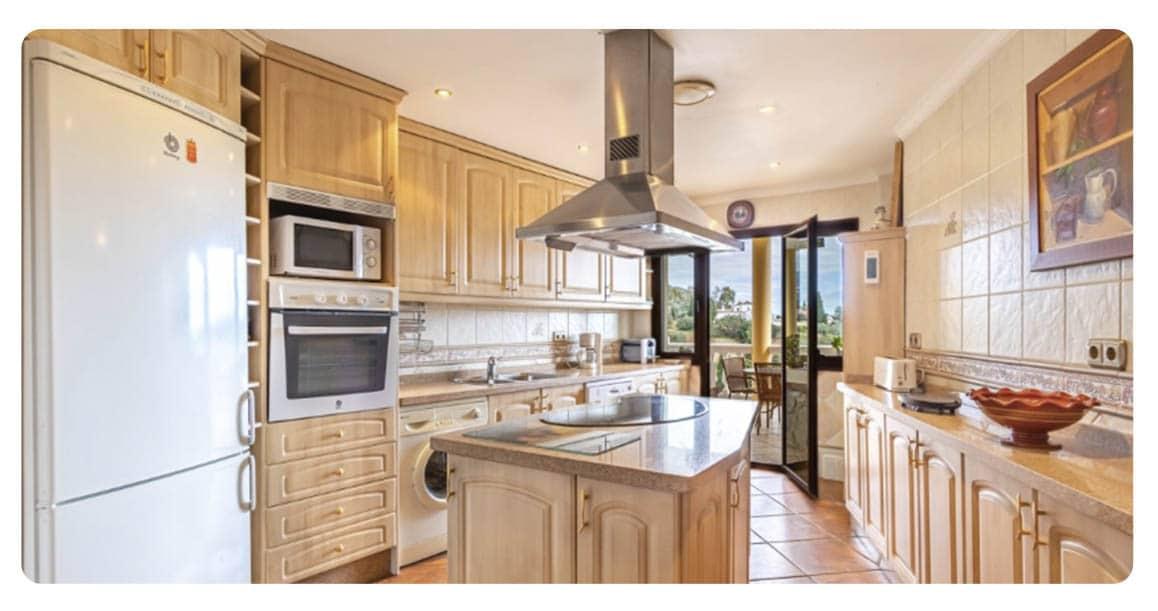 acheter maison malaga espagne cuisine