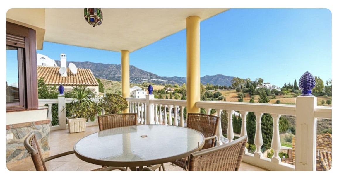 acheter maison malaga espagne terrasse
