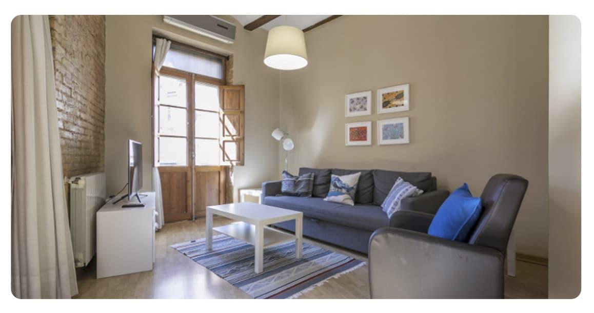 salon 2 appartement achete valence ruzafa