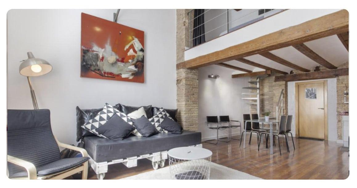 loft appartement achete valence espagne