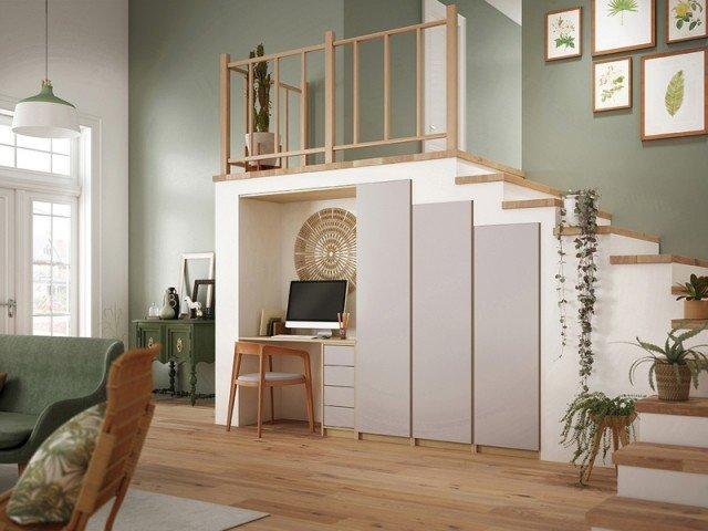 Idées combler espace sous escalier