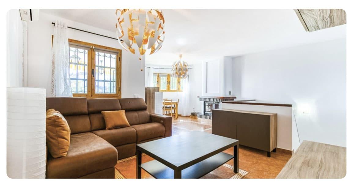 acheter appartement benalmadena Torremuelle salon