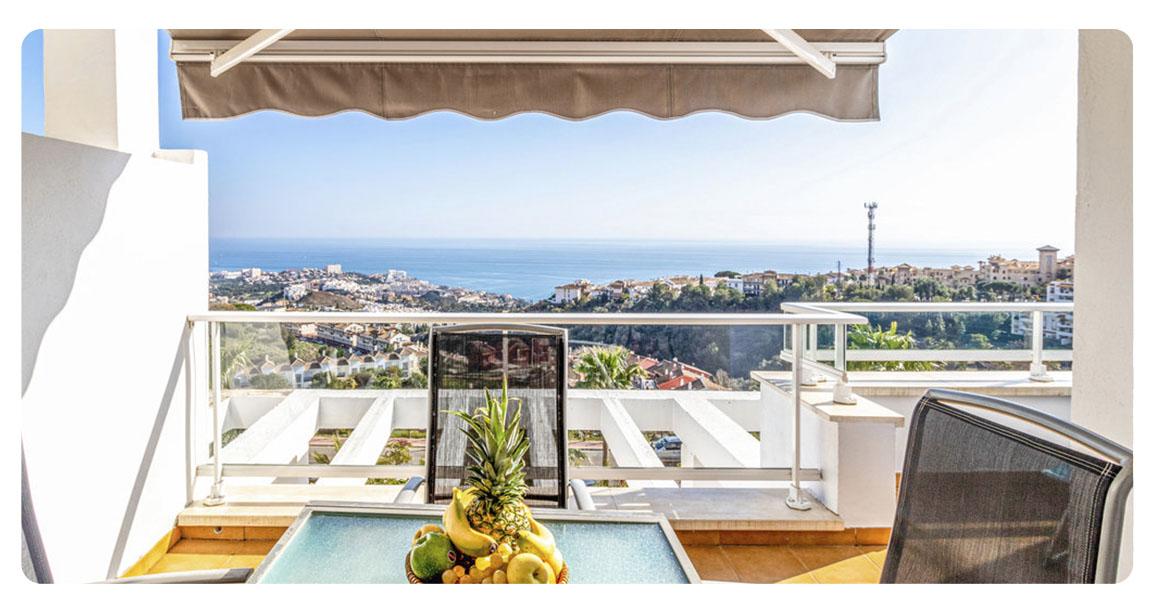 acheter appartements benalmadena terrase