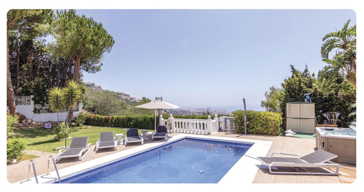 acheter grande maison a benalmadena piscine