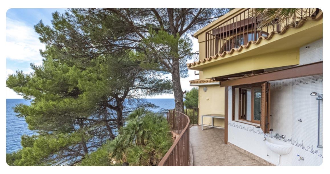 acheter maison majorque Banyalbufar terrasse