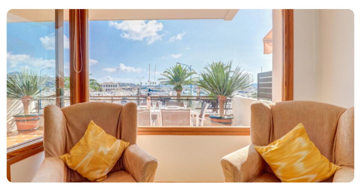 appartement majorque vue mer