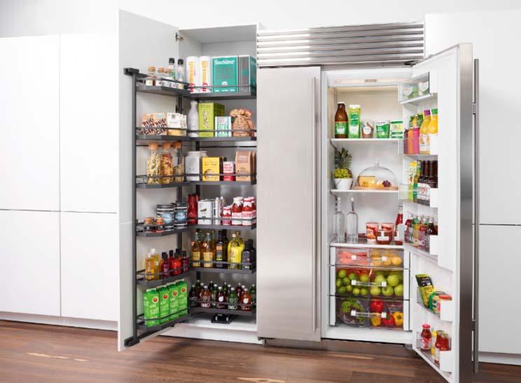 Changement cuisine frigo