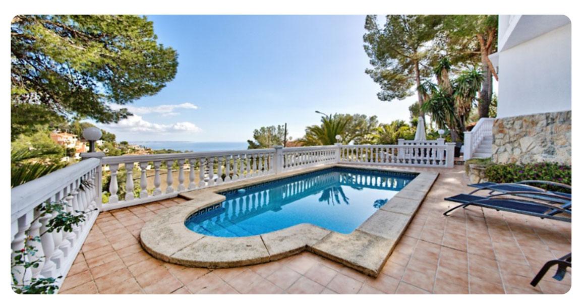 piscine 2 maison achete minorque illetes cas catala