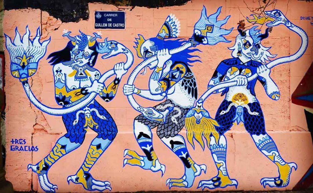 Disneylexya, artiste urbain valencia