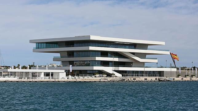 Edificio Veles e Vents à la marina de valencia