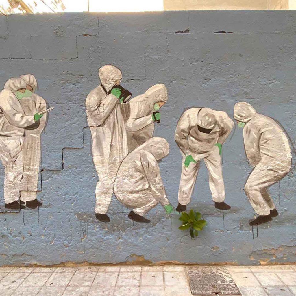 Escif, artiste urbain valencia
