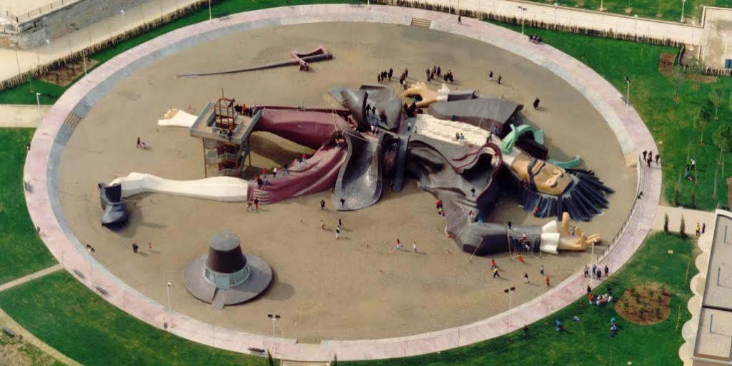 Parque Gulliver, jardin du Turia à Valencia