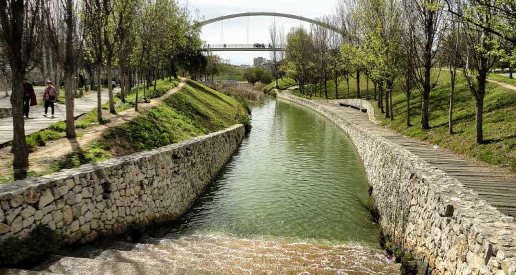 Parque de Cabecera, jardin du turia à Valencia