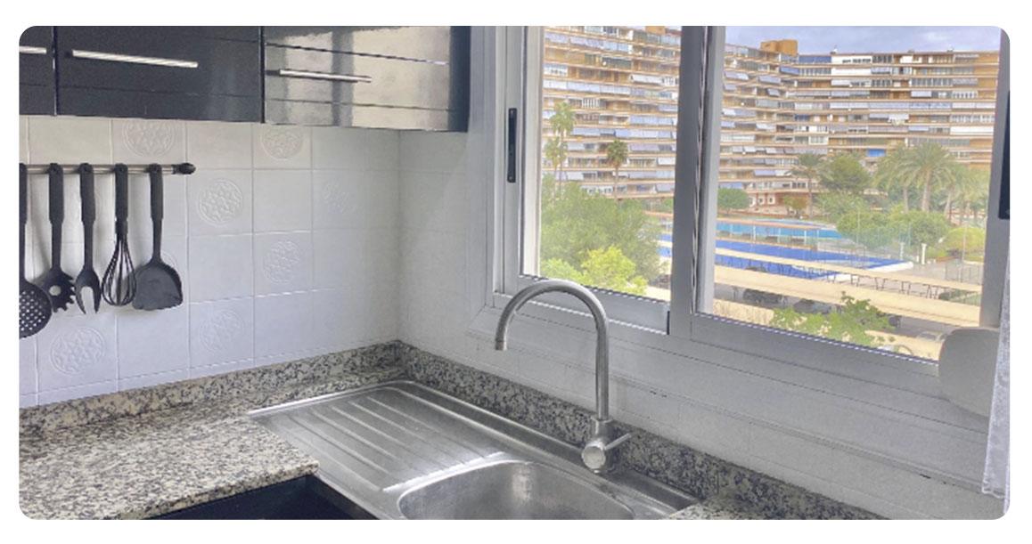 acheter appartement alicante centre cuisine