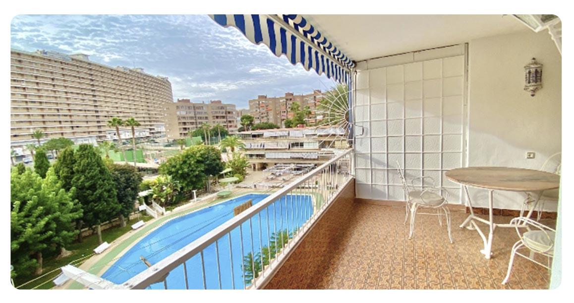 acheter appartement alicante centre terrasse vue