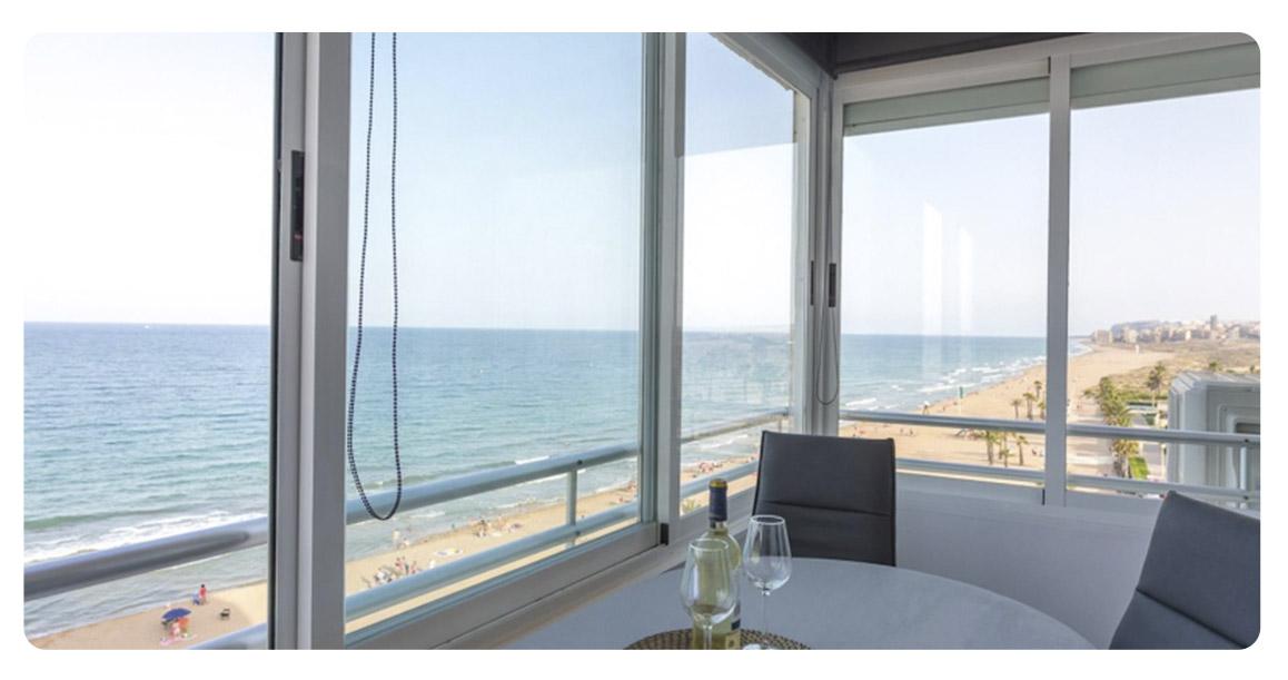 acheter appartement alicante terrasse vue
