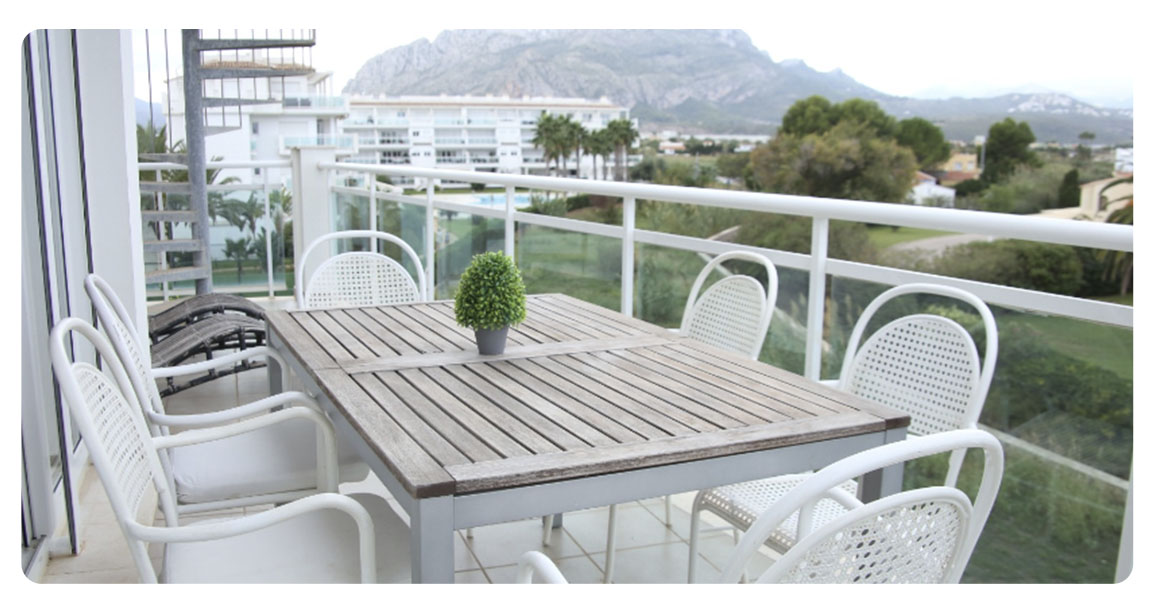 acheter appartement atico denia marjal terrasse