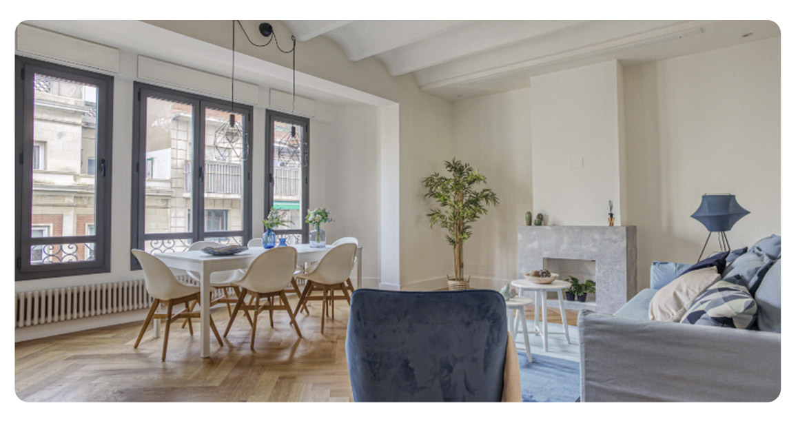acheter appartement barcelone centre salon