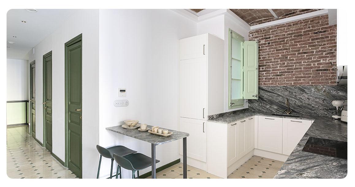 acheter appartement barcelone centre ville cuisine 2