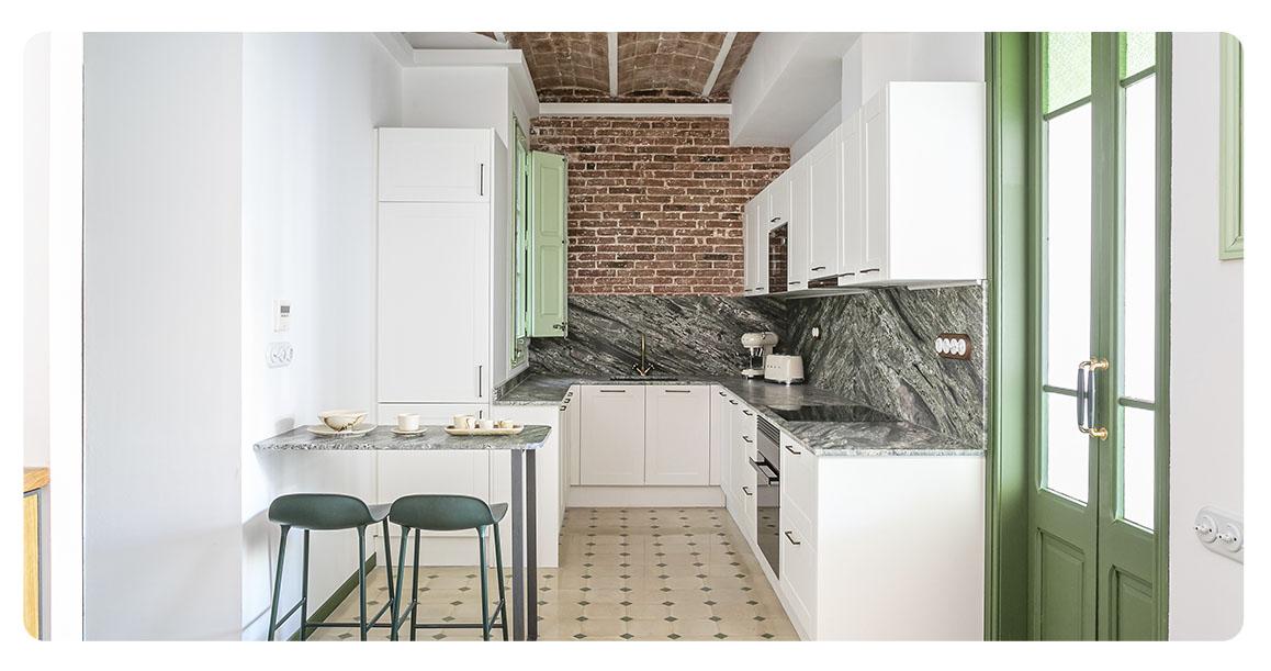 acheter appartement barcelone centre ville cuisine 3