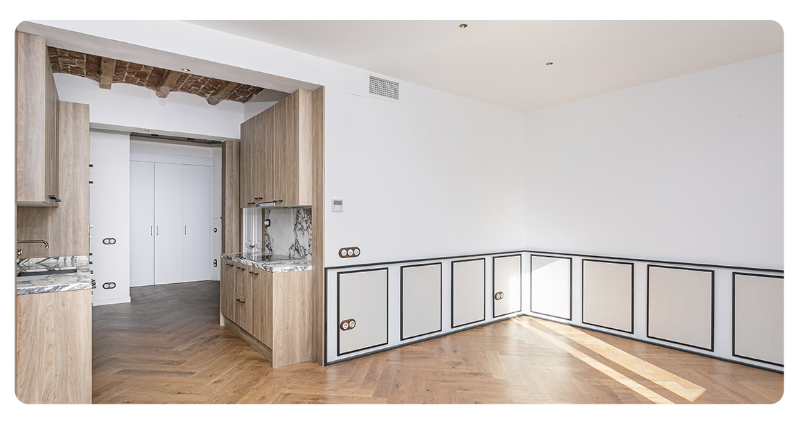 acheter appartement barcelone vue sur sagrada familia salon