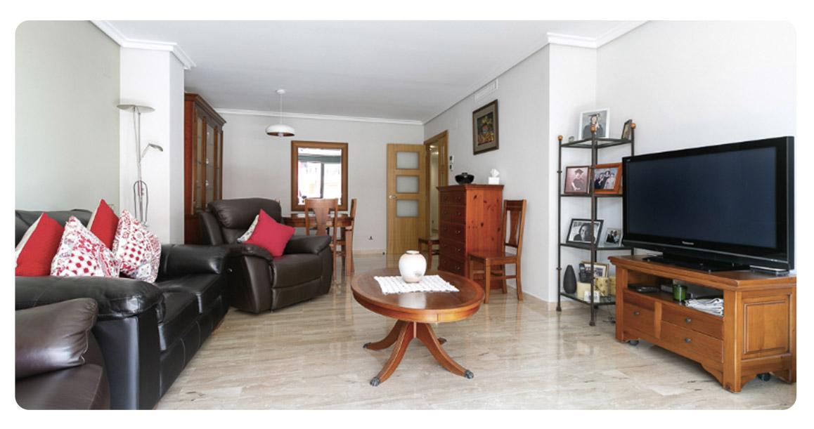 acheter appartement denia salon 2