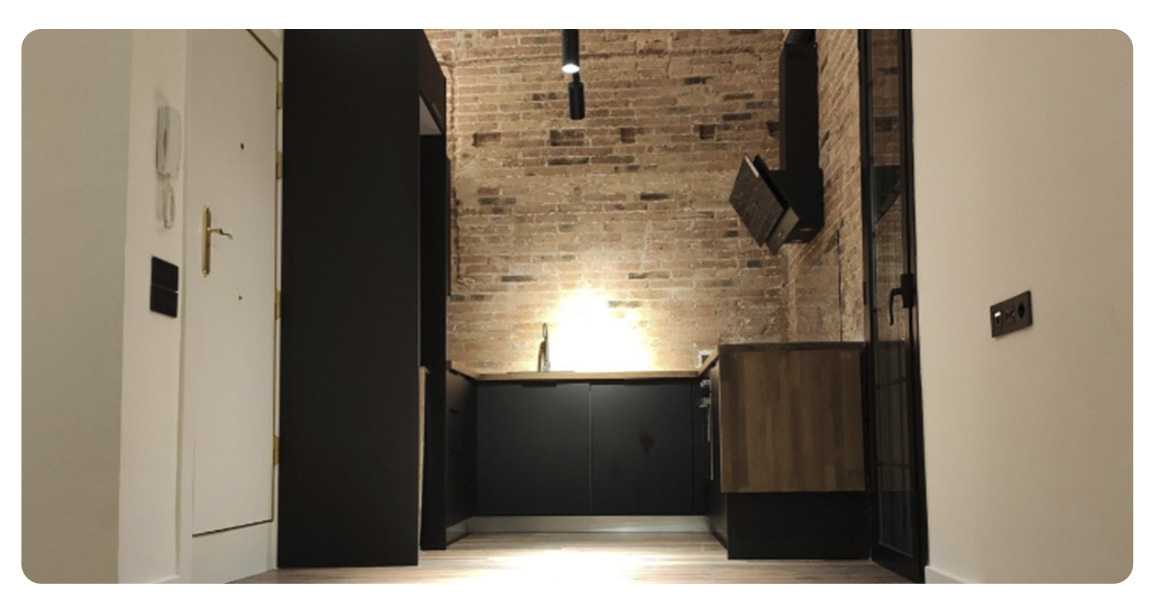 acheter appartement moderne barcelone centre entree