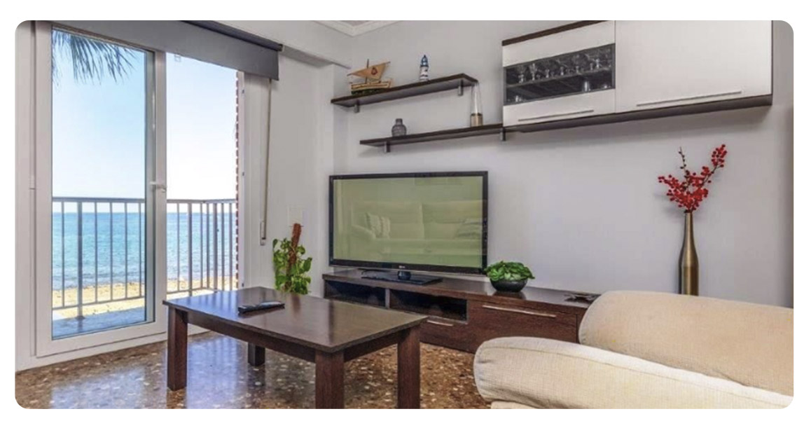 acheter appartement port javea salon