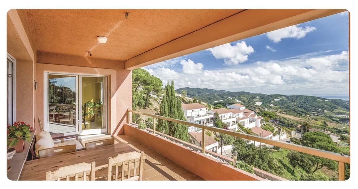 acheter maison barcelone sant cebria de vallalta balcon