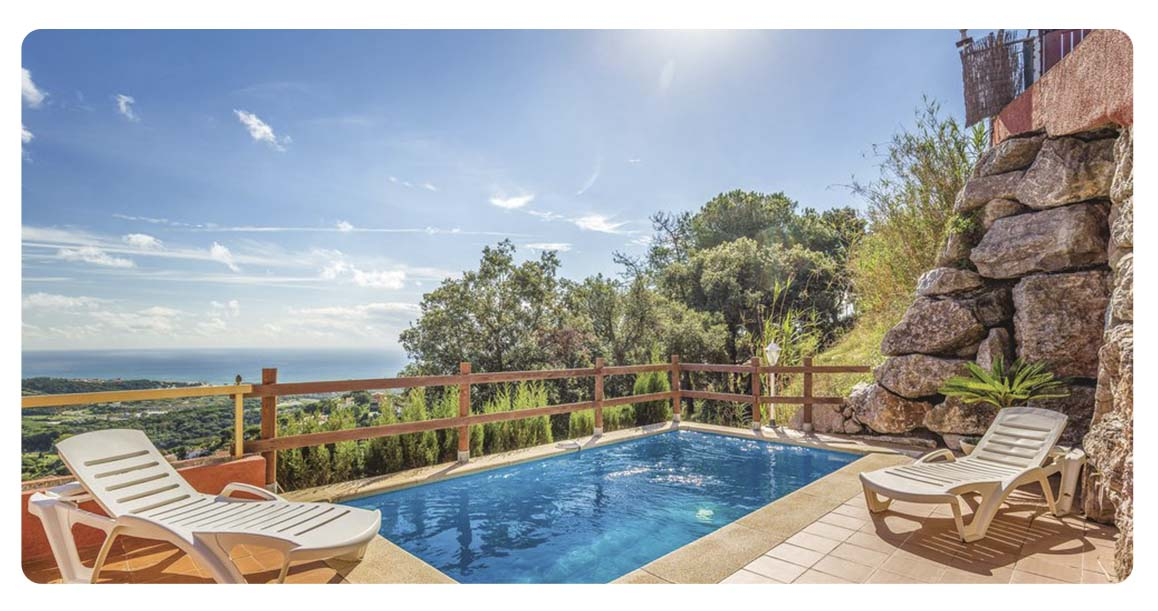 acheter maison barcelone sant cebria de vallalta piscine
