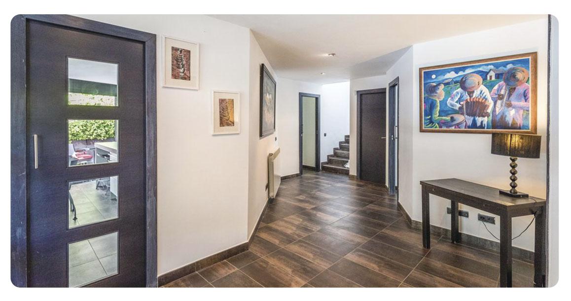 acheter maison barcelone sant pol de mar escaliers