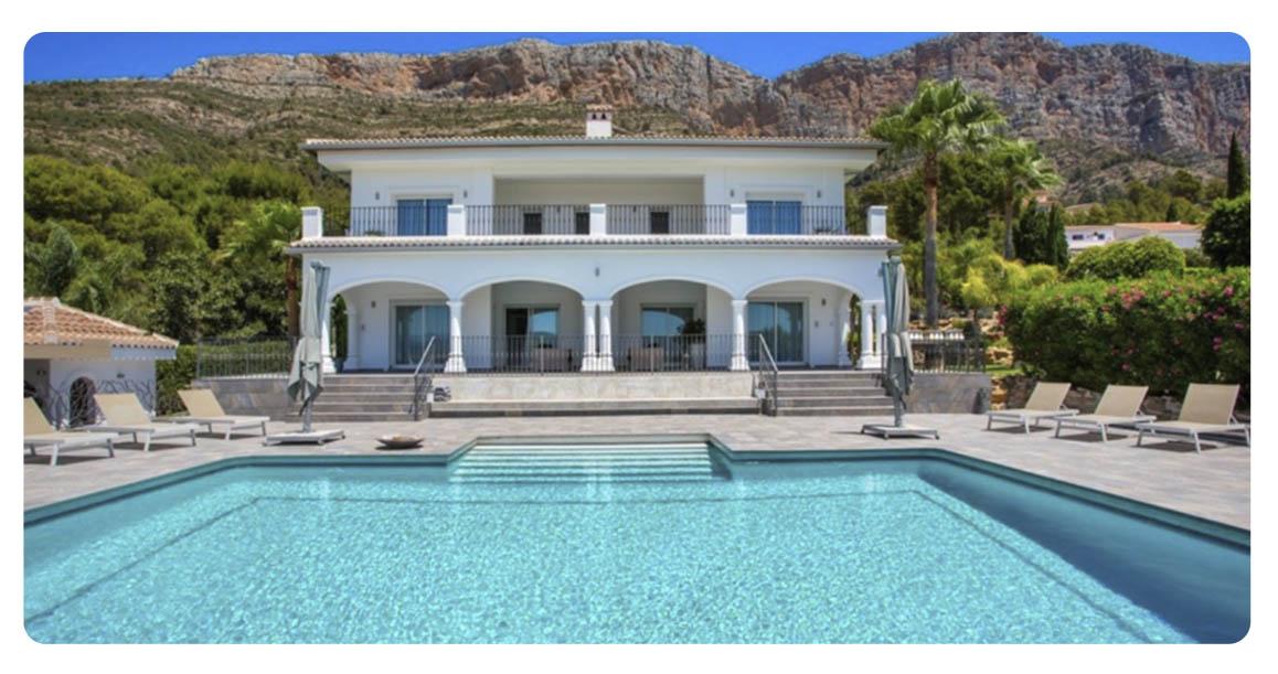 achete maison centre javea piscine exterieur