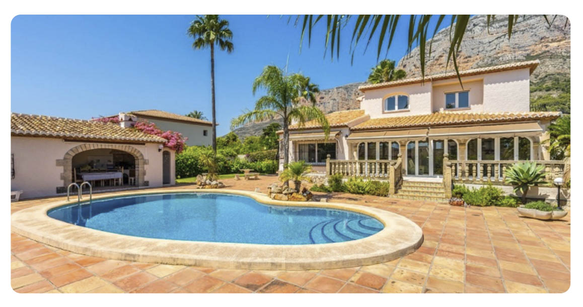acheter maison javea montgo piscine