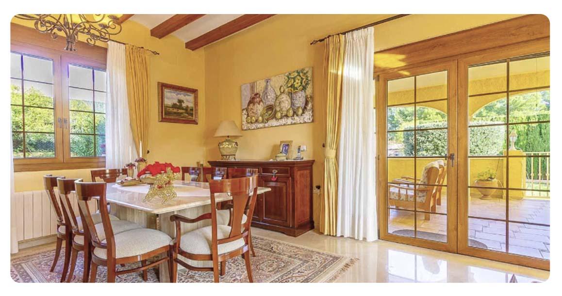acheter maison villa alicante bello horizonte salle a manger