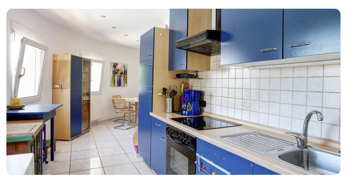acheter maison villa denia cuisine
